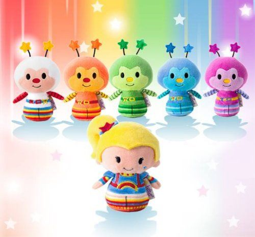 Rainbow Brite Itty Bittys. Hallmark releasing photos of new merchandise. #ittybittys @influenster @hallmark