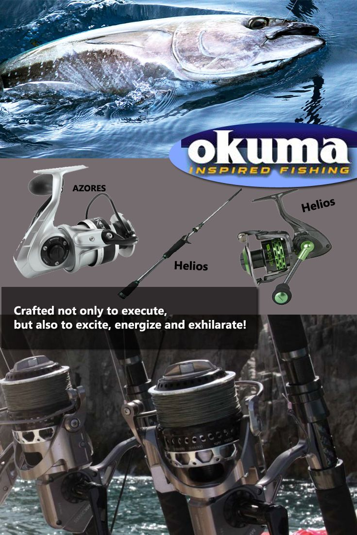 Shop Okuma Reels, Rods, Combos, and Deals!
