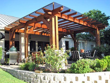 best 25+ wood patio ideas on pinterest | wood deck designs, patio ... - Wood Patio Cover Designs
