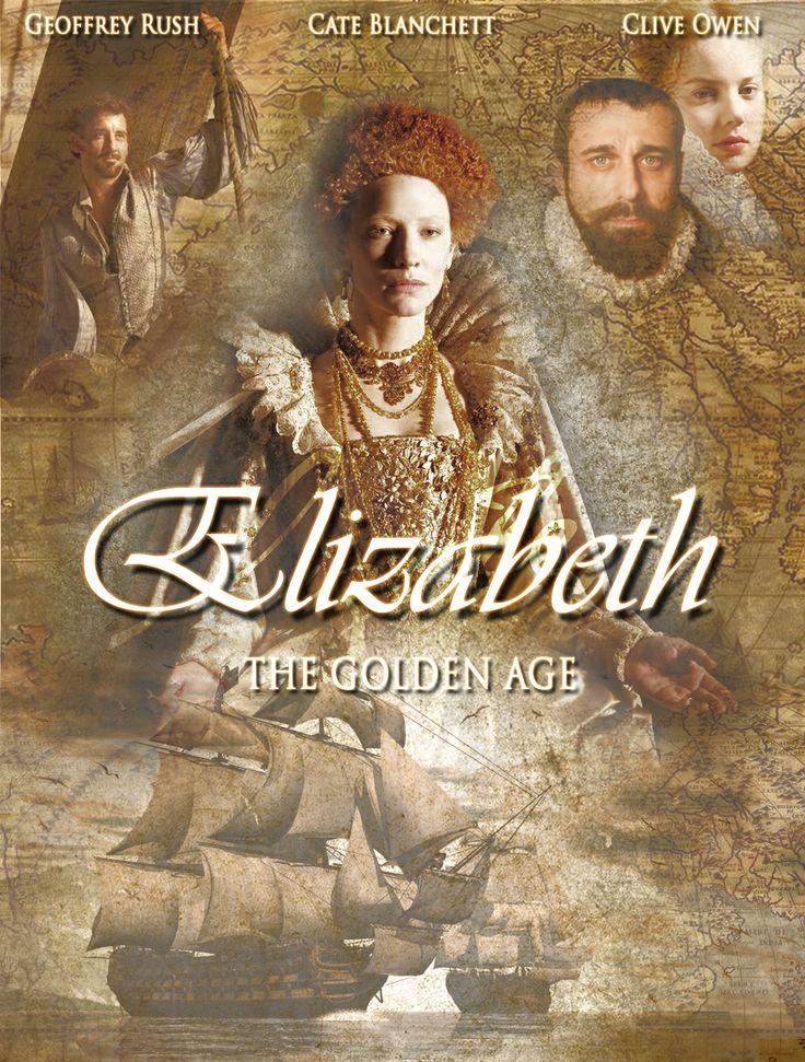 Elizabeth movie poster remake