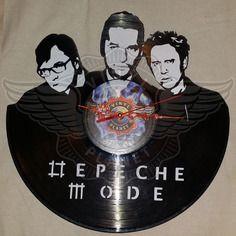 25,50 € Horloge vinyle décoration Depeche Mode