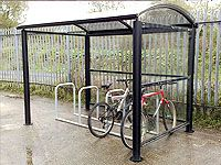 Arba - Dome Bicycle Shelter