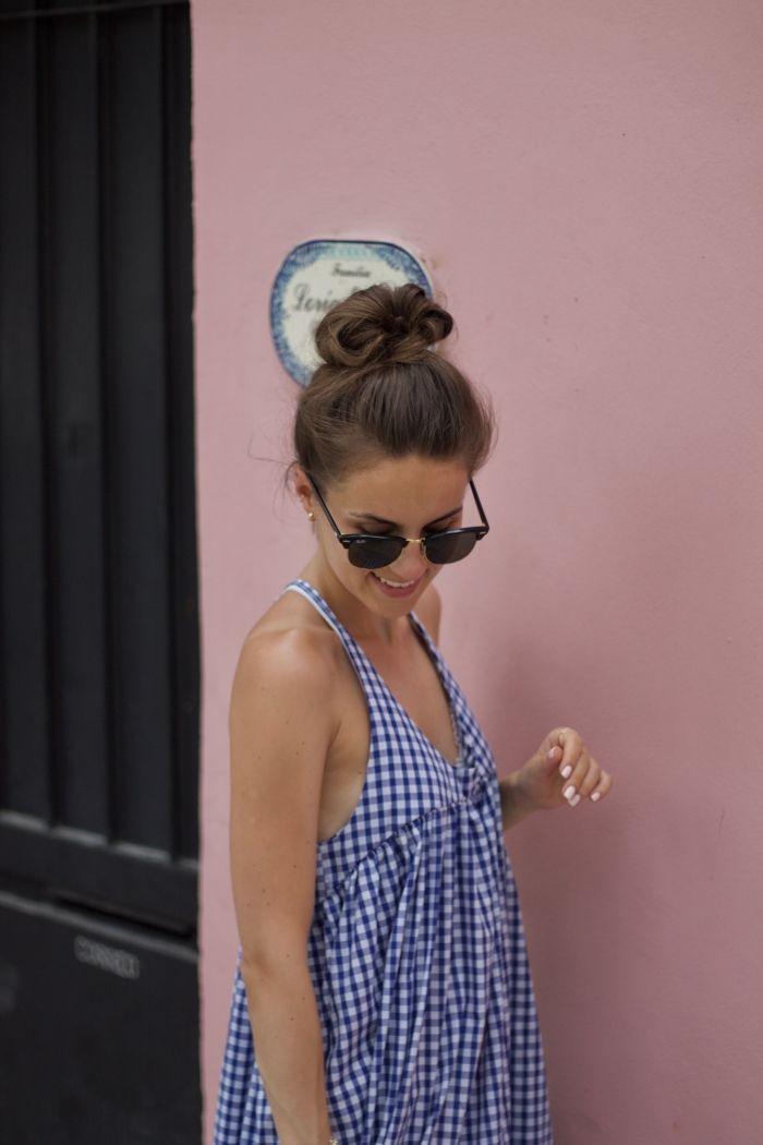 Pink Walls - Vichy Kleid Und Espandrilles - Shoppisticated