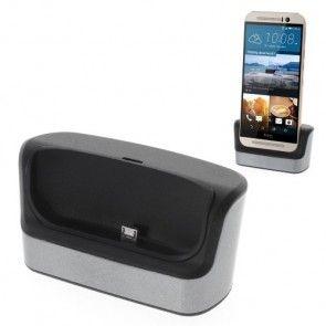 HTC One M8 USB Dockingstation / Ladestation - Schwarz - HTC One M9 Stromversorgung - Bild 2