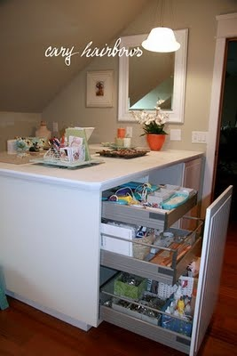 another craft table with Ikea Applad