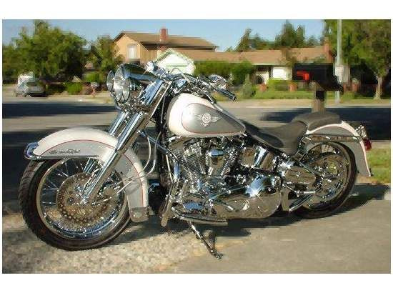 1994 HARLEY-DAVIDSON FLSTN Heritage Softail ...  Oh gawd I want it...