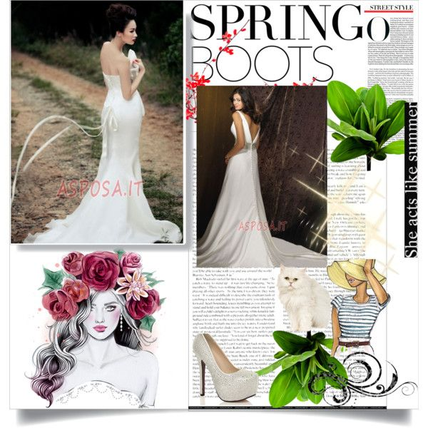 Abito da Sposa by asposa on Polyvore featuring vintage