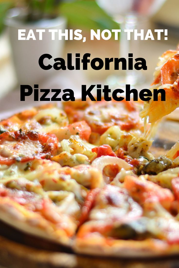 """California Pizza Kitchen's """"healthy"""" thin crust pizzas actually have more calories than its regular pies. Get our favorite and healthy Eat This, Not That! swap   http://www.eatthis.com/the-top-swap-at-california-pizza-kitchen"""