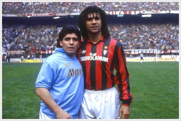 Milan-Napoli, Gullit-Maradona