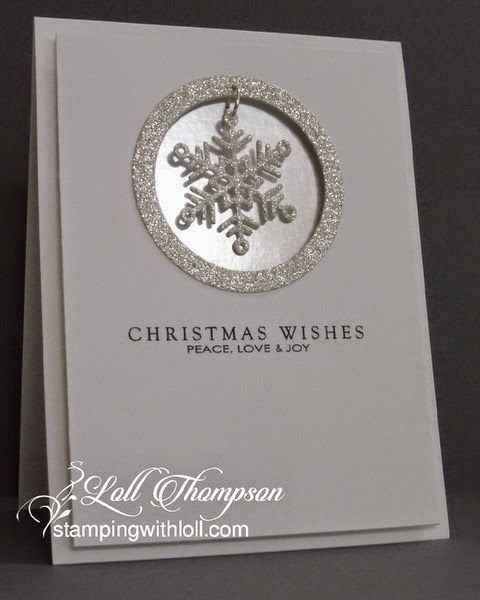 Stamping with Loll: Two CASE'd Christmas cards