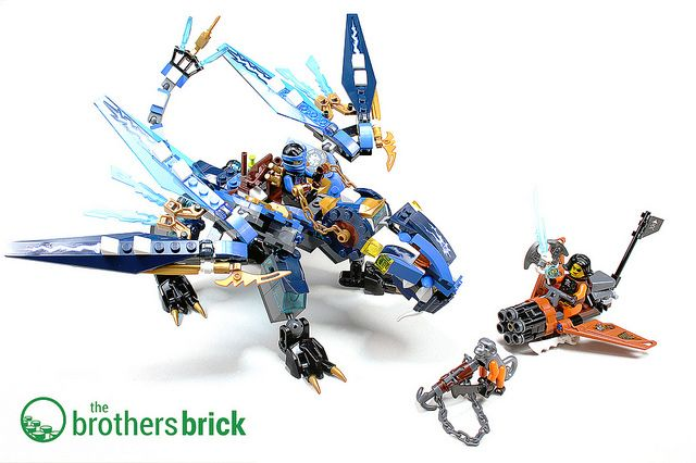 17 best images about lego set reviews on pinterest lego - Lego ninjago dragon a 4 tetes ...