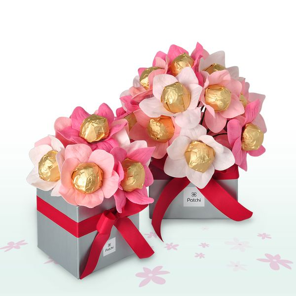 Patchi's chocolate flower bouquets from the Mother's Day Collection 2012