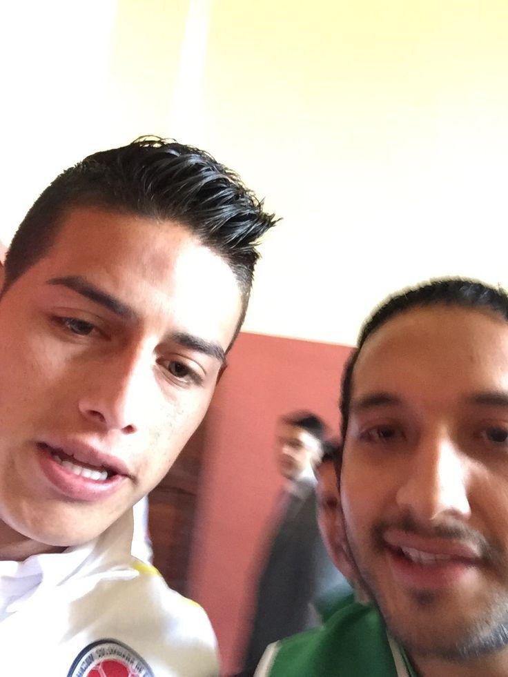 James Rodriguez de Colombia capitán y 10  Jugador del Real Madrid