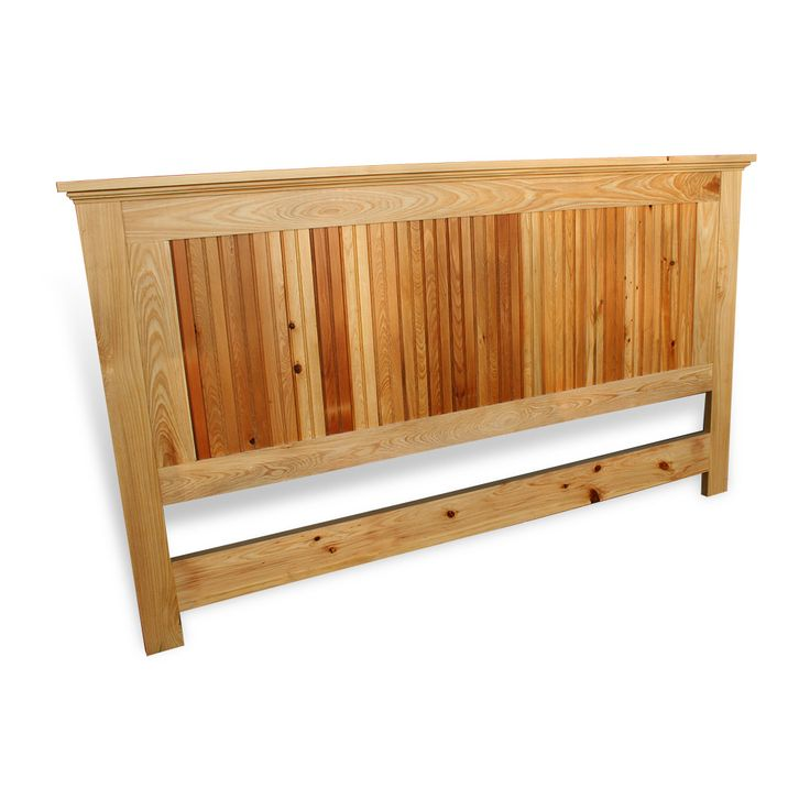Beadboard Headboard in 2019  Projects to Try  All wood furniture Wood headboard Bed slats