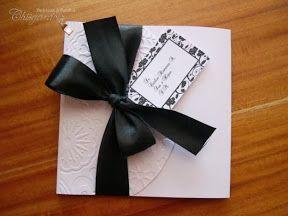 Invitaciones de Boda - Blanco y Negro