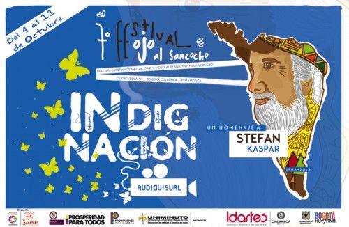 Cartel del séptimo festival de ojo al sancocho
