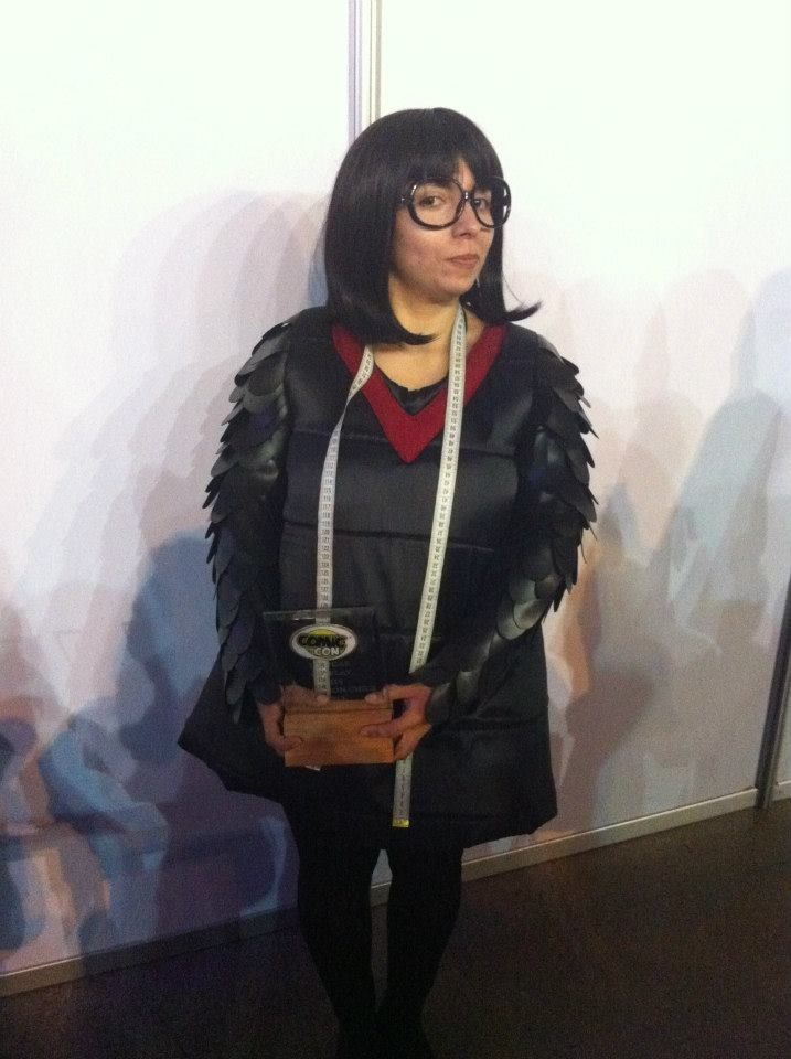 ComicCon Chile 2013 || Edna from The Incredibles