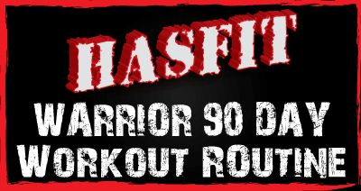 warrior 90 day workout will kick your butt, but only for 15-30 mins a day (with some free days in between) so it's SUPER easy to fit in to your busy life!