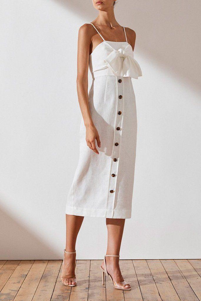 Shona joy quinn contour ruffle maxi dress