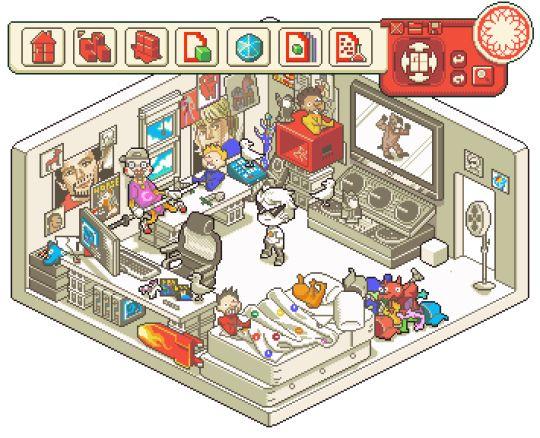 Dirk Strider - alpha kid pixel rooms homestuck