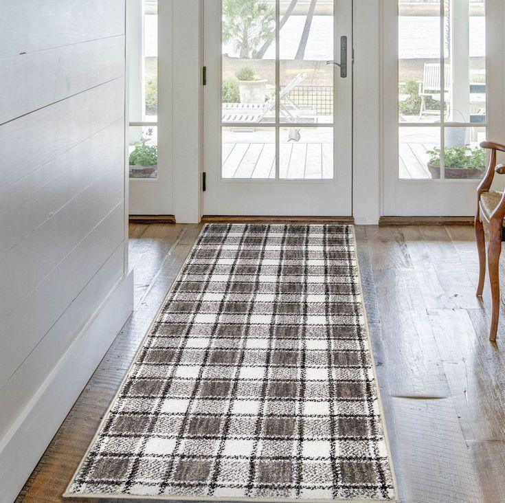 better homes gardens gingham plaid area rug walmart on farmhouse colors for bath mats walmart id=44093