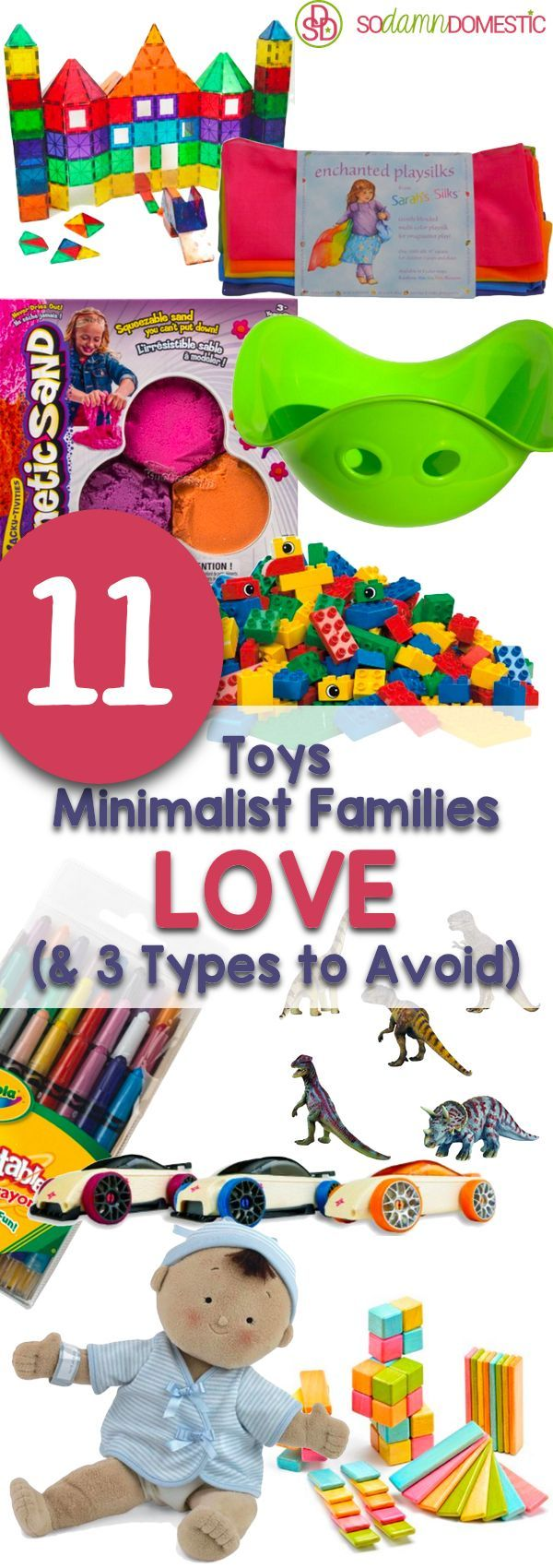11 toys minimalist families love and 3 types to avoid