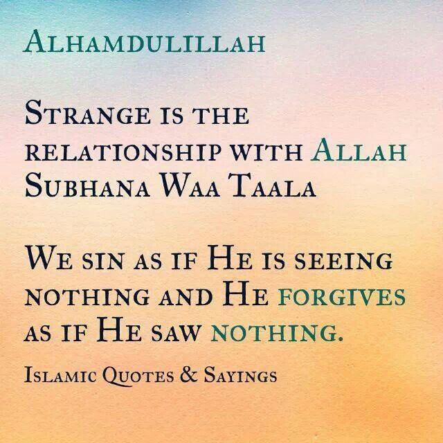 Alhamdulillah | ♡ Some Inspiring Quotes | Pinterest | Alhamdulillah Faith In God Quotes And Sayings