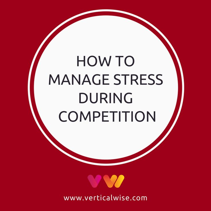 The presence of anxiety at the beginning of a competition is considered highly influential by many athletes. Take 6 actions to manage stress during contest.