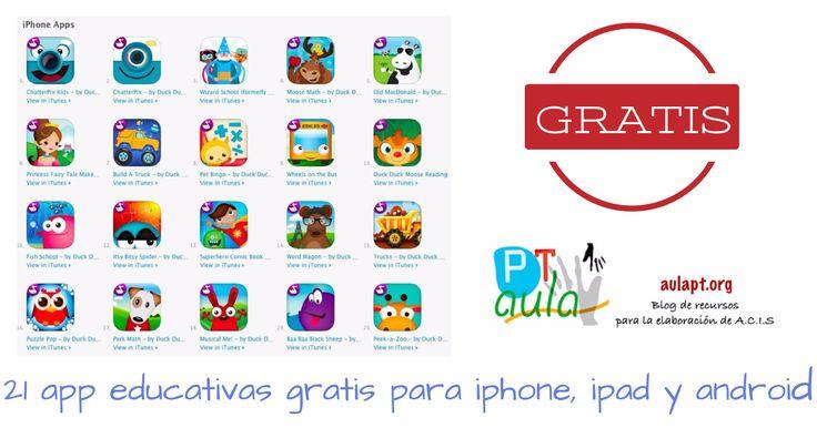 Duck, duck, moose nos permite descargar sus 21 apps educativas gratis