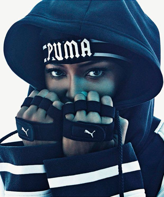 Naomi Campbell / Puma / Naomi Campbell takes the pages of Vogue Italia's August 2016 edition lensed by fashion photographer Francesco Carrozzini