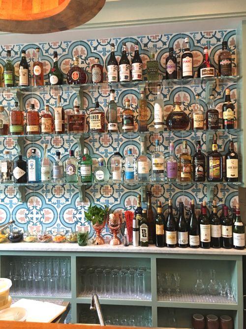 Moroccan Tile Backsplash At Saltie Girl Restaurant In Boston