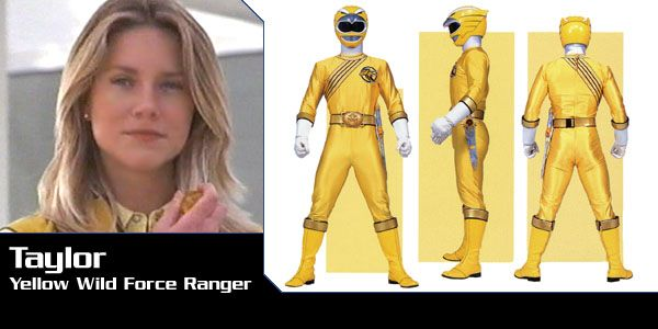 Taylor Earheart (Yellow Eagle Wild Force Ranger) - Power Rangers Wild Force | Power Rangers Central (Power Rangers Central, 03/16)