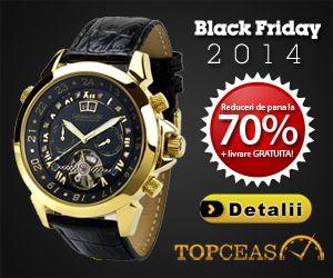 Reduceri de Black Friday la ceasuri on http://www.fashionlife.ro