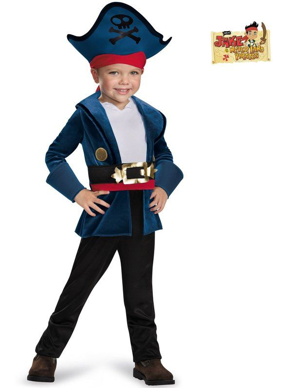 disney junior jake the never land pirates captain jake toddler costume http - Disney Jr Halloween Costumes