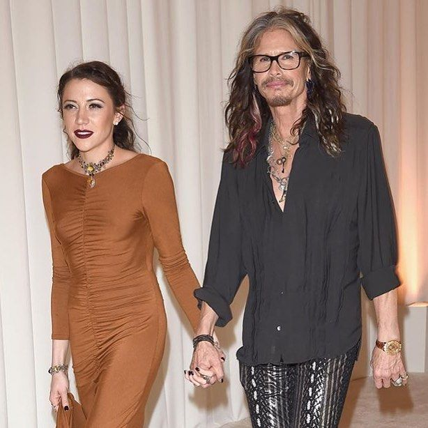 Aimee Preston is officially the new girlfriend of Steven Tyler by chiccone001