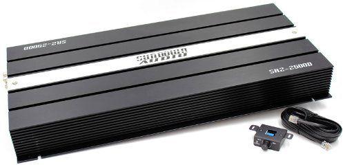 SAZ-2500D - Sundown Audio 2500W 1-Channel Monoblock Amplifier by Sundown Audio,  Just one of Five in the car