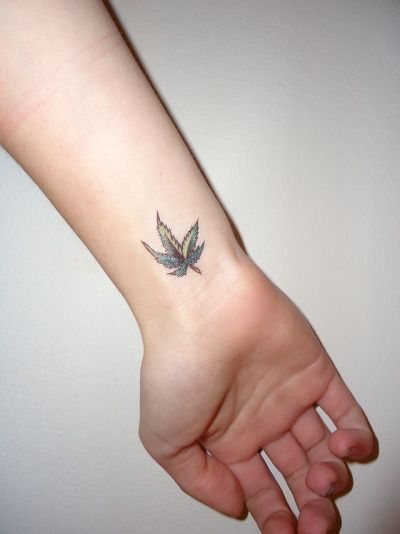 weed tattoo | Tumblr