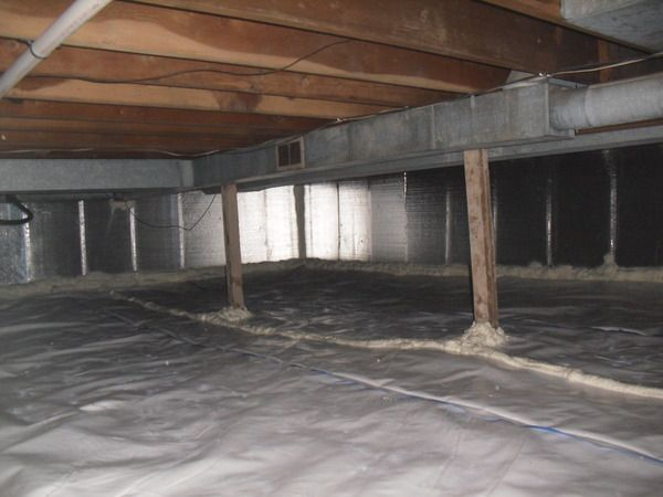 I liked reading this article because it shows you with detailed pictures how to seal a crawl space. It is ideal to insulate the crawl space to keep contaminated air out of your home - Andrea Holguin