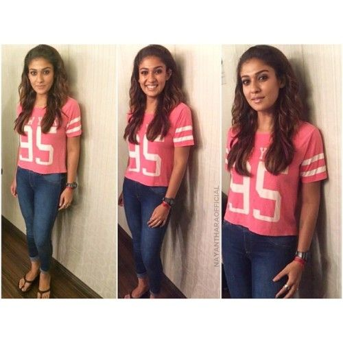 long hair dont care hair band style from nayanthara