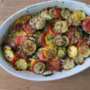 Zucchini and Eggplant Casserole by Jessica Seinfeld
