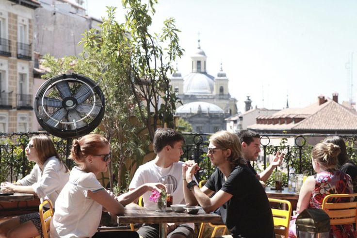 20 terrazas madrileñas para reencontrarse con el cielo - Eat & Love Madrid