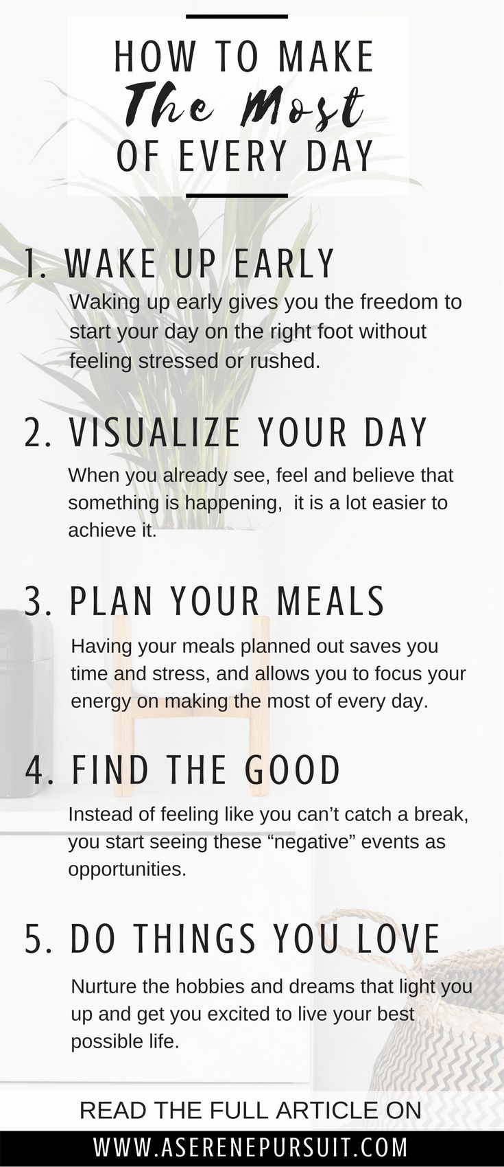 12 Tips on How to Make The Most of Every Day in 2018 | Are you tired of letting the days simply come and go? Do you want to make this year the best year yet? Start by making the most of today. Click through for simple tips and ideas on how to make the most of life and live out each day with intention. | 2018 goals | positive mindset | personal development | growth mindset motivation | change your mindset | happy thoughts | happy life | perspective inspiration | self improvement |