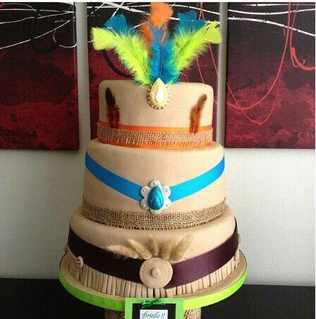Pocahontas cake:)                                                                                                                                                                                 More