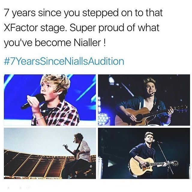 I'm so so proud of you Nialler