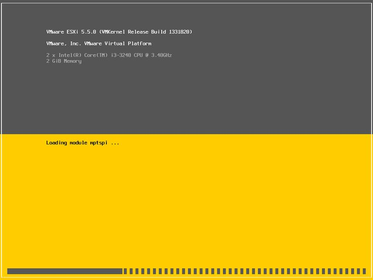 How To VMWare ESXi Install