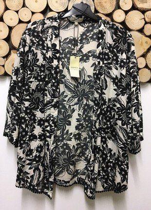 Kup mój przedmiot na #vintedpl http://www.vinted.pl/damska-odziez/marynarki-zakiety-blezery/17724364-narzutka-w-kwiaty-floral-idealna-na-lato-ponczo