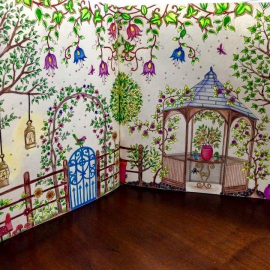 Teenbom Gazebo Jardim Secreto Design De Imagem