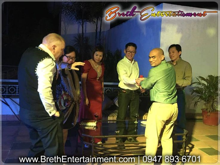 Corporate Events Entertainer HIRE David Breth. He is a professional entertainer/magician in Angeles City, Pampanga … Call 0947-893-6701 for bookings and inquiries!