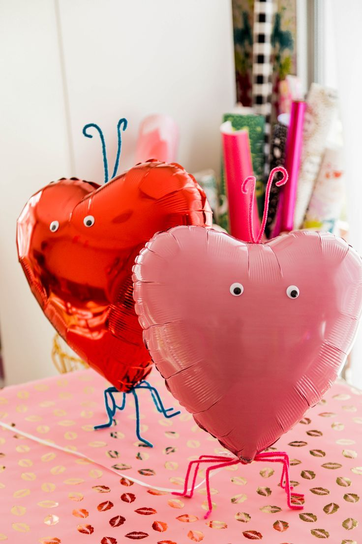 Love Bug Valentine Balloons You Can Make For One Dollar