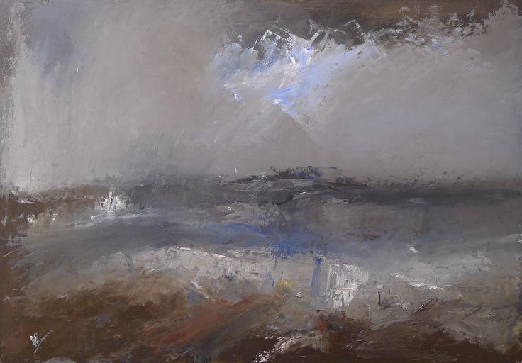 Winters Seas 38 x 54 cm oil on board